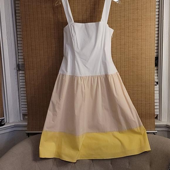 NWT Cremeux color blocking dress
